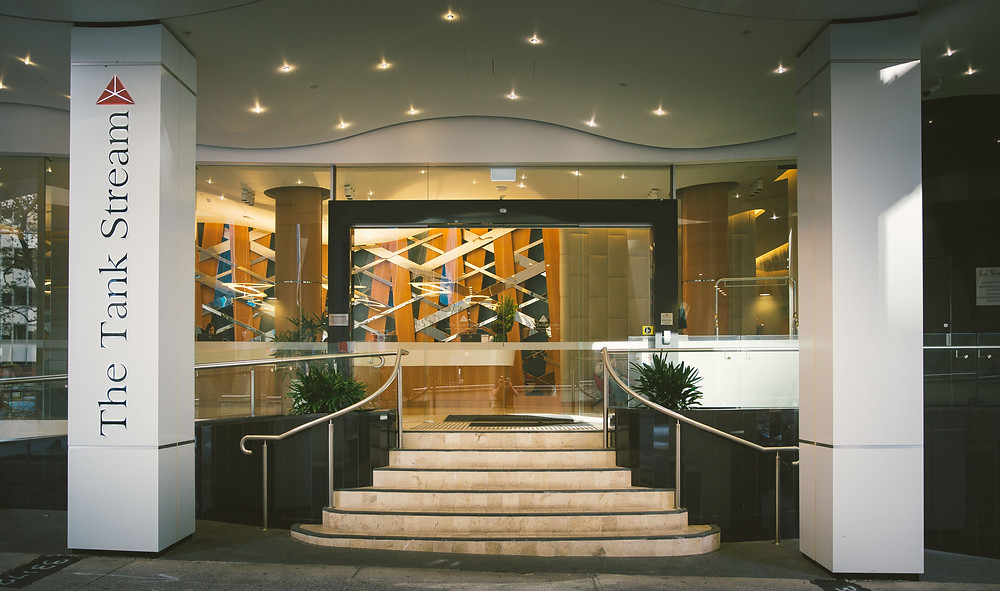 The Tank Stream Hotel in Sydney