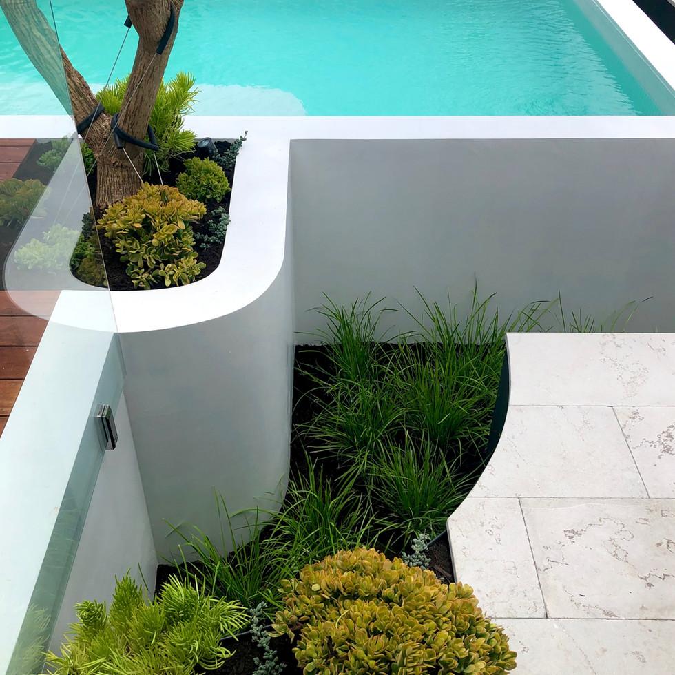 Ardross Raised Pool Landscaping Perth