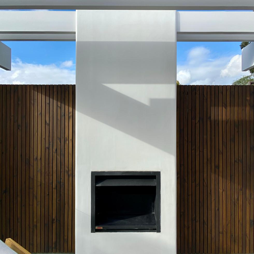 Mount Lawley Structure Alfresco Tiled Pool design by award winning designer tristanpeirce Landscape Architecture Pool and Garden Design