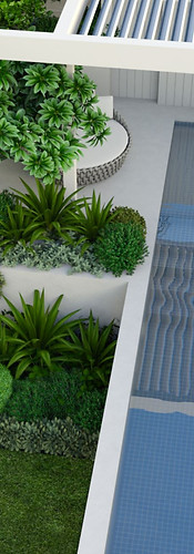 North Beach, Perth best located pool, spa tristanpeirce Landscape Architecture Applecross