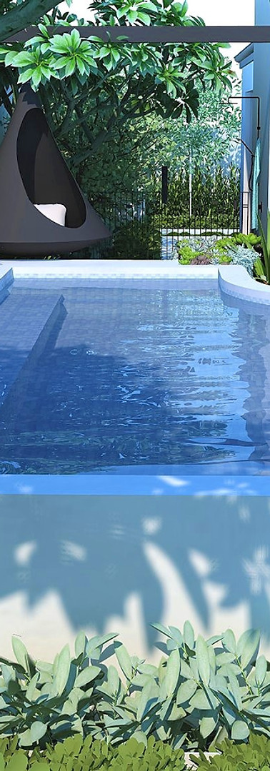 Raised Pool Perth Marmion Perth tristanpeirce Landscape Architecture Pool and Garden Design