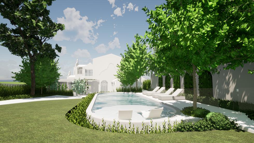 Pool and landscaDesigner Best landscaper Dalkeith, Perth landscaping by tristanpeirce Landscape Architecture Pool and Garden Designping design tristanpeirc