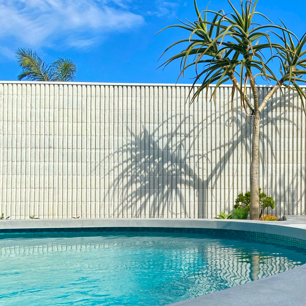bespoke landscaping design city beach by designer tristan peirce landscape architecture pool and gardens
