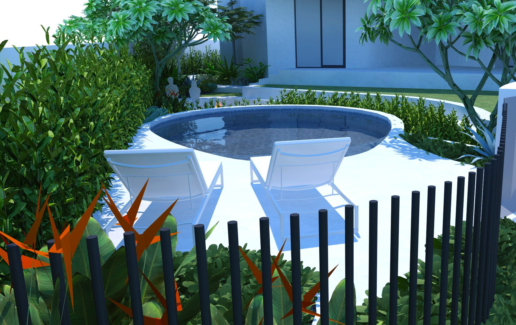 bespoke landscaping design city beach