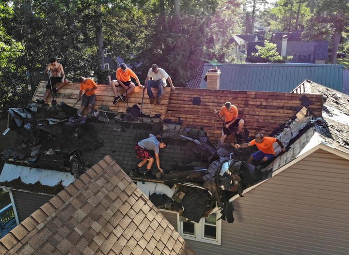 Roof Job Inspection