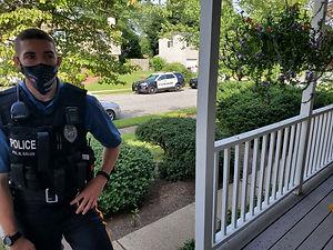 Police Hackettstown Wellness Check 20200