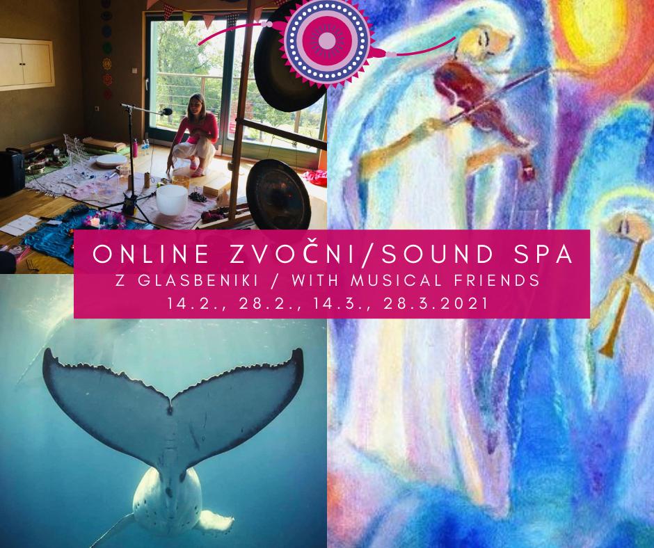 Sound SPA online bath 'musical friends'