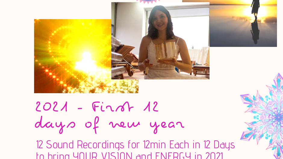 First 12 days of New year - RECORDING for each month of the year -June