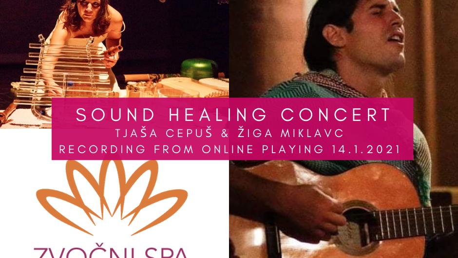 Sound healing Concert Tjasa Cepus & Ziga Miklavc - Recording