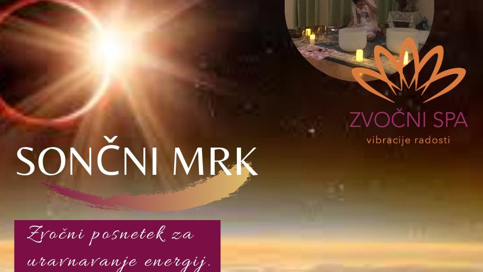 Zvočni posnetek Sončni mrk / Sound recording Sun Eclipse