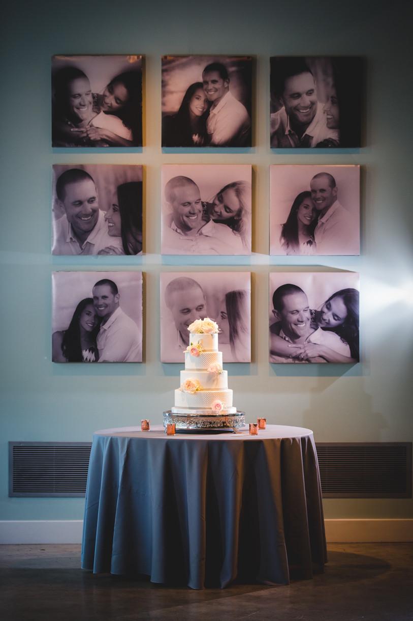 Greenville, SC Wedding Cake Photography
