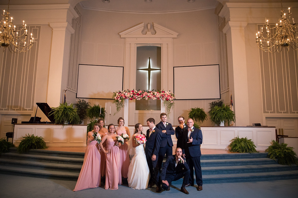 Bridal Party Formal Portraits