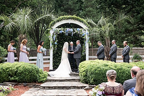 Wintergreen Woods is perfect for medium and small weddings, and the outdoor garden area is perfect for ceremonies!  The indoor reception area is so easy to photograph, the food is fantastic, and management is top-of-class!