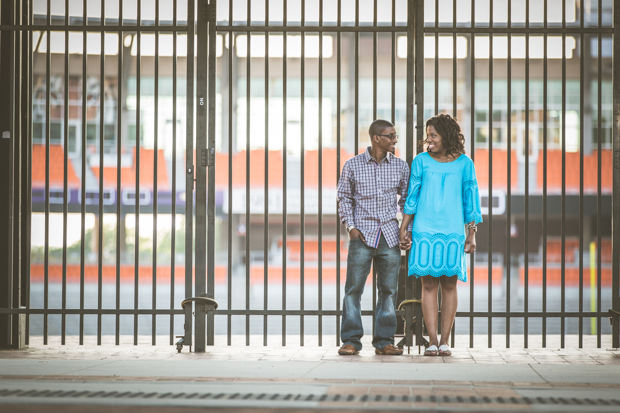 Engagement Portraits in Carolina