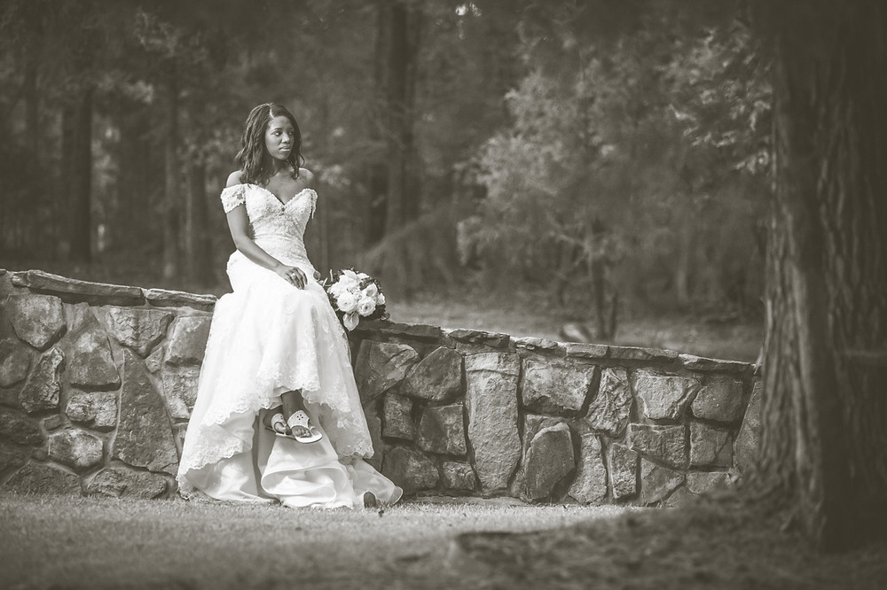 Bridal portrait in Irmo, SC