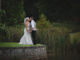 The Voorhees Wedding at Rock Bottom Pond
