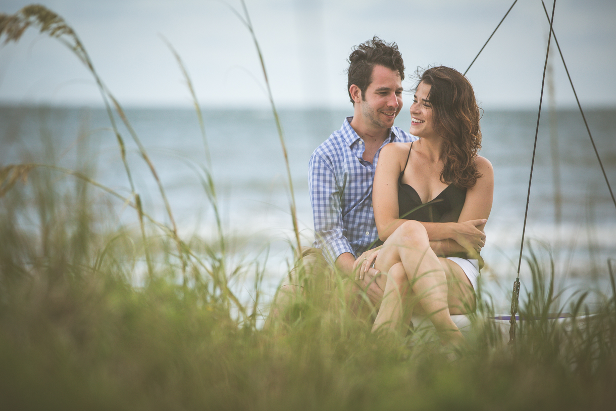 Charleston SC Engagement Portraits