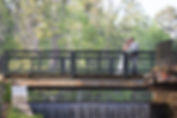 The Millstone at Adam's Pond is gorgeous and offers so much space and variety!  The bridal suite and groom suite are both fantastic, ceremonies can overlook the picturesque pond, and receptions can be both indoors and outdoors.  Management is super professional and personable.  The waterfall is iconic and feeds into a stream that is also great for portraits.  We've covered countless weddings here, and every one is unique, gorgeous, and fun!