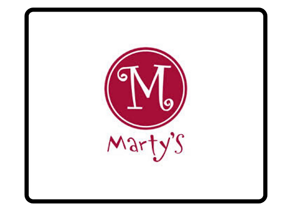 Marty's Cafe Gift Certificate