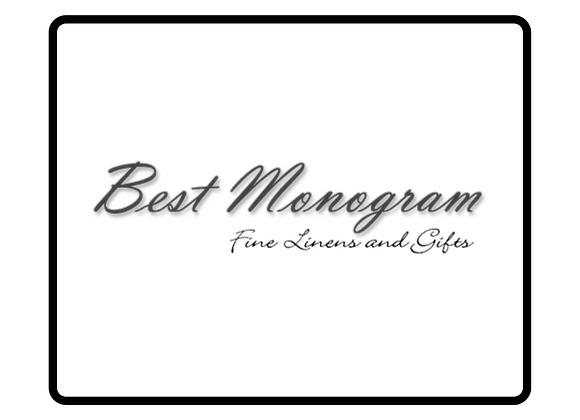 Best Monogram Gift Certificate