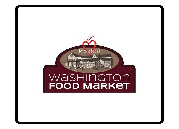 Washington Food Market Gift Certificate