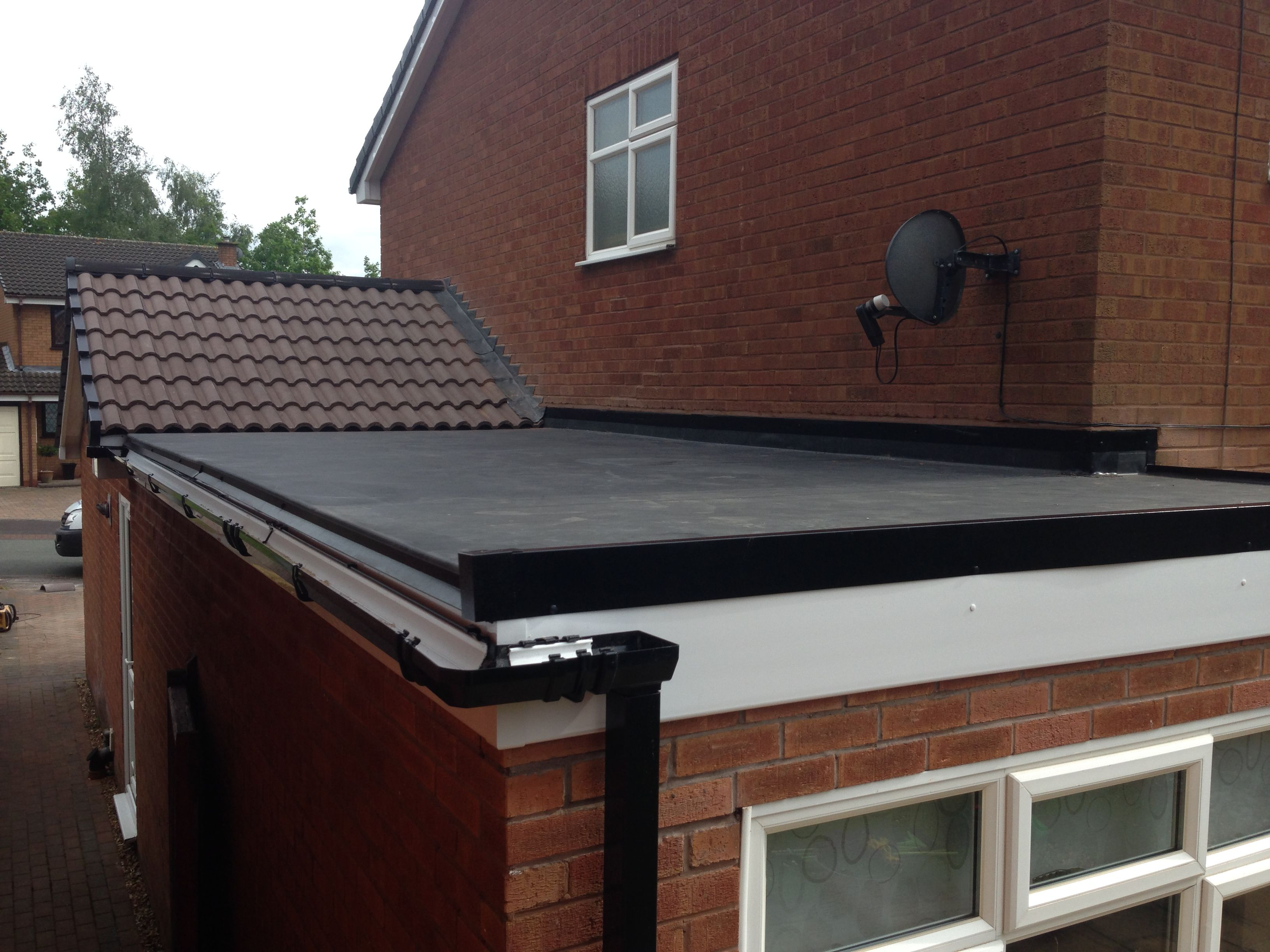 ROOFING: Firestone Rubber EPDM
