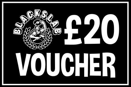 £20 In-store Voucher