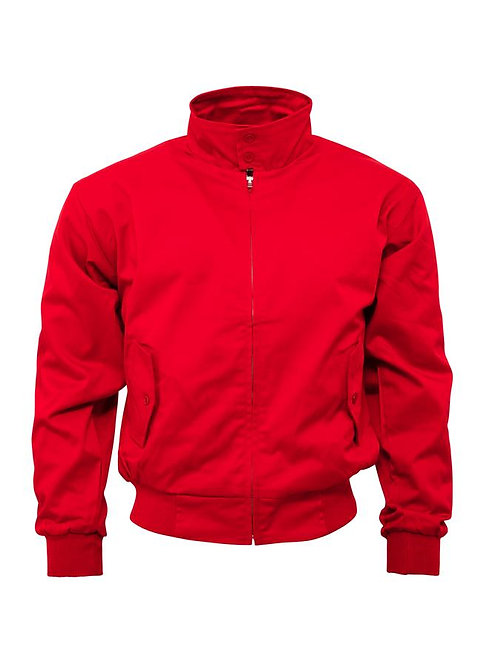 Relco Harrington Jacket Red