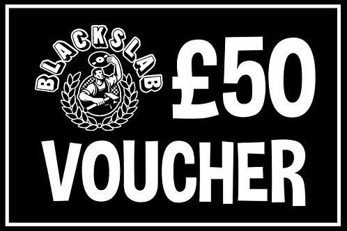 £50 In Store Voucher