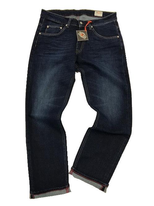 Trojan Zip Fly Stretch Slim Fit Jean 1016 Dark Wash