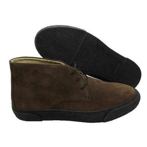 Delicious Junction Bullitt Suede Boot - Chocolate