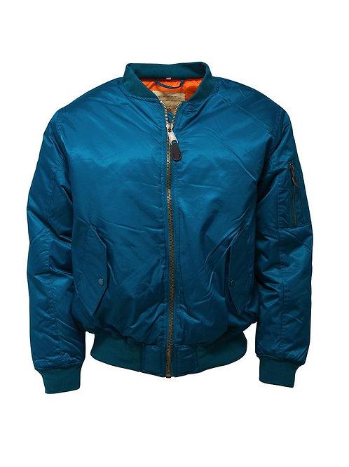 Relco MA 1 Jacket - Petrol Blue