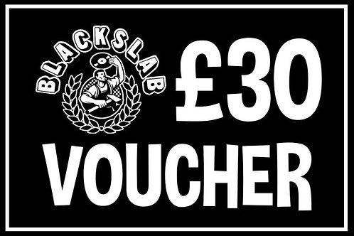 £30 In-store Voucher