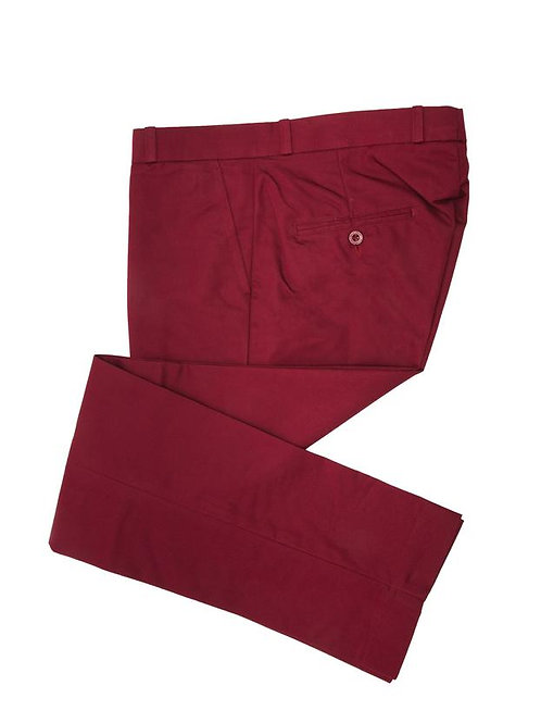 Relco Sta Prest Trousers - Burgundy