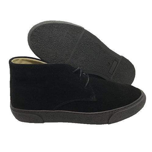 Delicious Junction Bullitt Suede Boot - Black