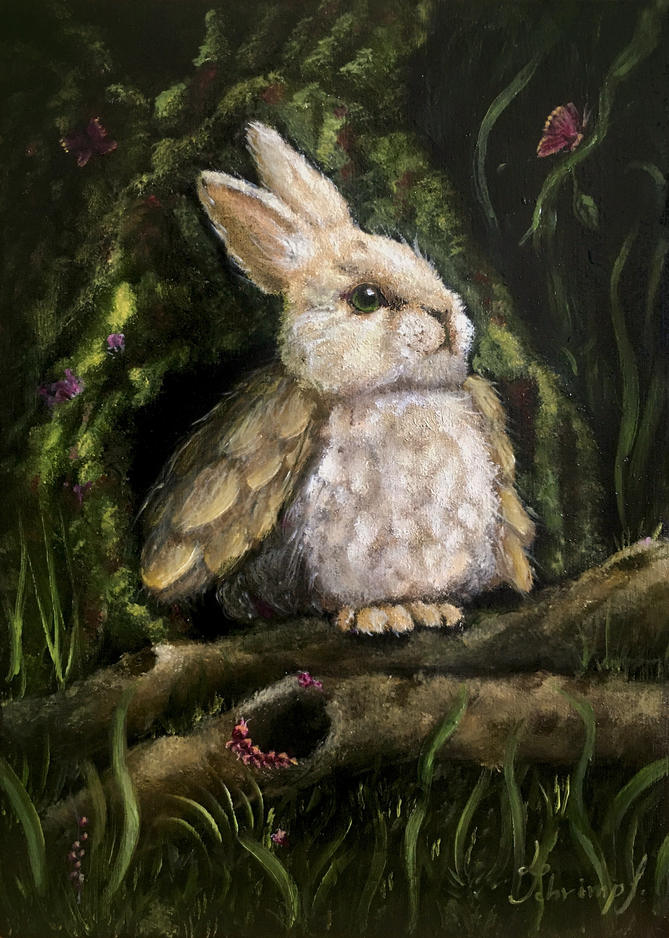 Fantasy bunny rabbit character cute bunny fantasy art fantastic beasts