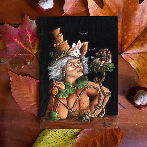 Postcard Witch Question de Goût