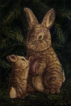 illustration peinture lapin lucie schrimpf