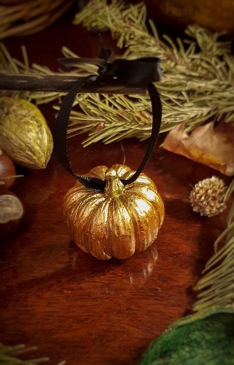 "Ornament ""Merry Pumpkin"""
