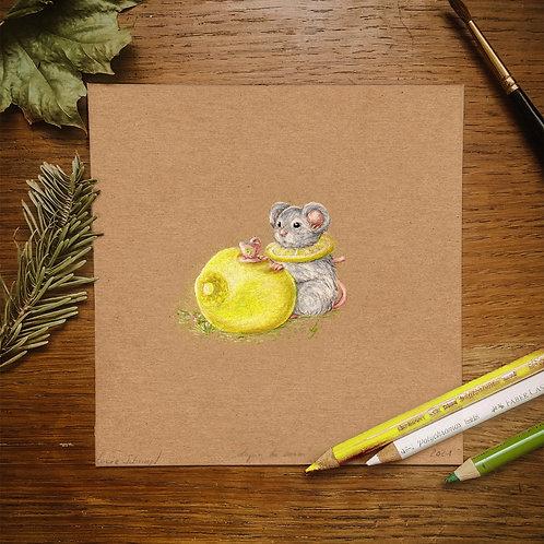 "Original Art ""Lemon Time"""