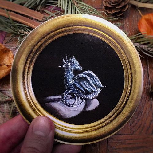 """Sticker fine art print """"Baby dragon"""" Lucie Schrimpf"""