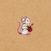 Mouse lucie schrimpf drawing
