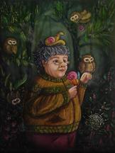 Peinture sorciere Lucie Schrimpf