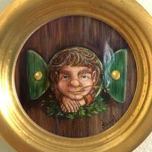 Hobbit painting Lucie Schrimpf