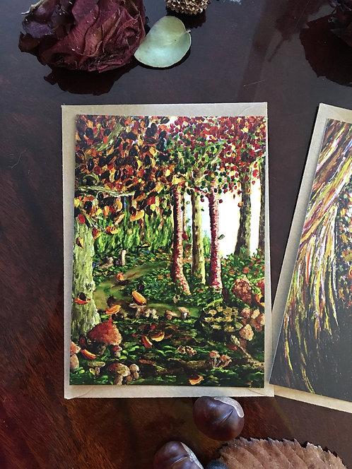 "Postcard ""Abondance"" Lucie Schrimpf"