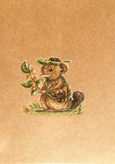Mouse cute drawing