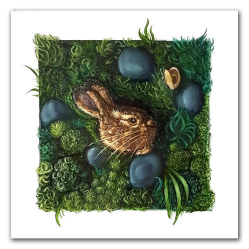 March Hare - Art Print