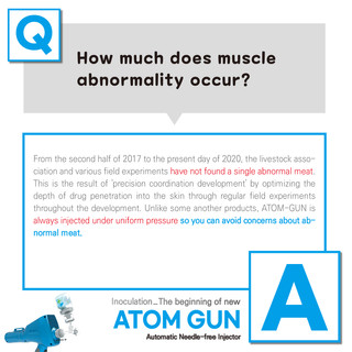 How much does muscle abnormality occur?
