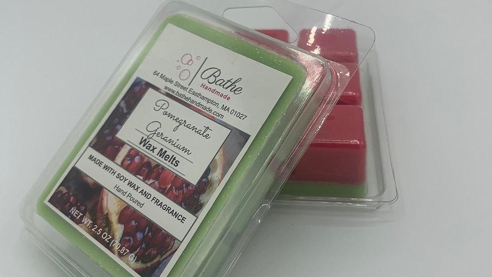 Pomegranate Geranium Wax Melts