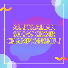 Purple Australian Show Choir Championshi